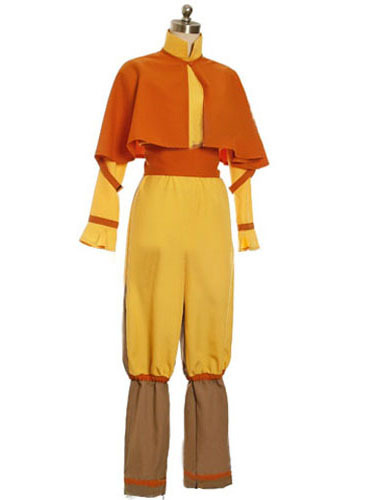 Aang Cosplay Costume From Avatar The Last Airbender Custom made