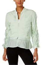 573540-03 WOMEN XTREME FRILL BOMBER JACKET PUMA SPRAY S M L XL MINT GREE... - $89.99