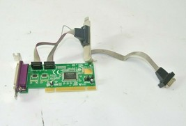 2S1P PCI Serial Parallel Combo Card with 16550 UART - $22.49