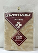 """Zweigart Country Damask 11 Count 100% Cotton Cross Stitch Fabric 11"""" x 11"""" - $8.50"""