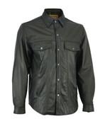 Men's Premium Lightweight Bike Rider Shirt Daniel Smart Motorcycle Leath... - $179.95