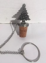 Pewter - Christmas tree - Wine Bottle Cork Stopper - from Wine Things Un... - €8,64 EUR