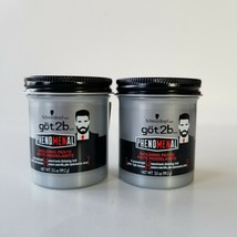 Schwarzkopf Got2b Molding Paste Clay Level 4 Groomed Style Light Hold Lo... - $24.14