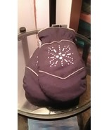 Joe Boxer Womens Black Gloves Silver Snowflake 3M 40g Thinsulate Snow Wi... - $9.99