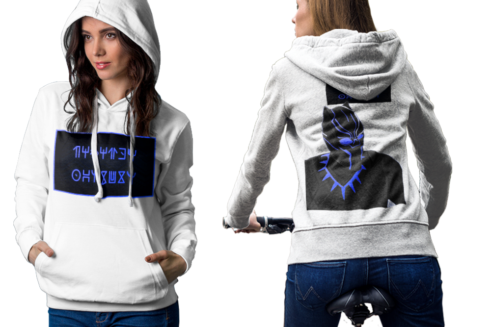 Black panther 3 hoodie classic women