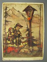 Vintage Hummel Color Postcard IN FULL HARMONY Nr. 4971 - $4.70