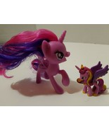 "2'My Little Pony Purple Unicorns 4"" & 2"". - $7.25"