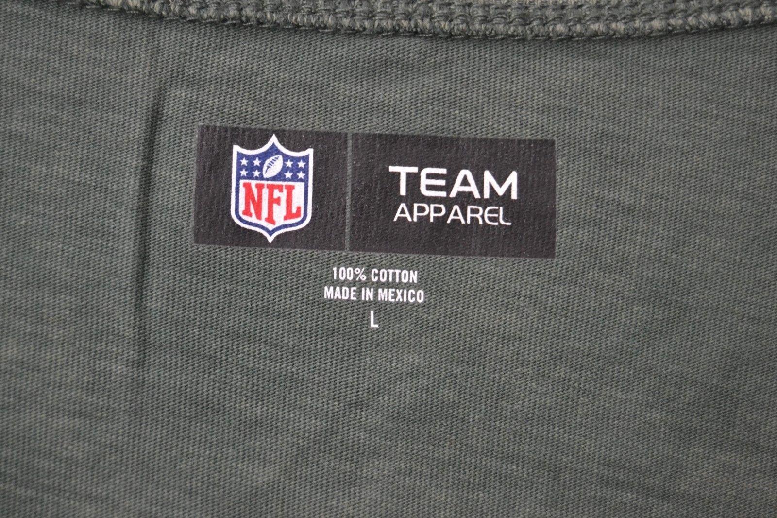 NFL Team Apparel Womens Green Bay Packers Off Shoulder T Shirt Sz L NWT image 6