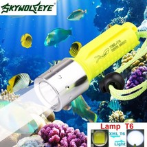 3500LM XM L T6 LED Underwater 130M Scuba Diving Flashlight Torch 18650  ... - £8.57 GBP