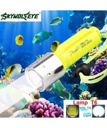 3500LM XM L T6 LED Underwater 130M Scuba Diving Flashlight Torch 18650  ... - $10.60