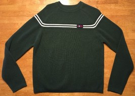 Abercrombie & Fitch A/92 Men's Green Long Sleeve Crewneck Sweater - Size... - $10.99