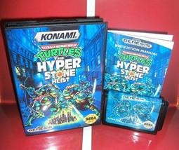 Teenage Mutant Ninja Turtles Hyperstone Heist - Sega Genesis - Reproduction TMNT - $26.99