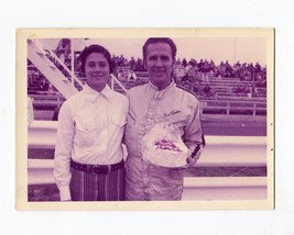 Gus Linder-Sprint Car Driver-Portrait Photo-1960's-VG - $20.61