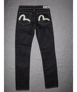 EVISU PUMA  Women's Jeans SLIM STRAIGHT Size W26 L32 - $34.99