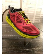 Hoka One One Conquest Womens Pink Active Sport Running Athletic Shoes Si... - $34.65