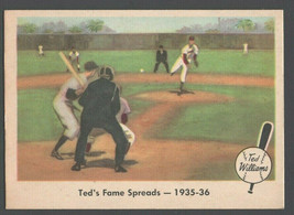 1959 Fleer Ted Williams 5 Ted's Fame Spreads em+ Boston Red Sox - $11.99