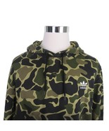 Adidas Originals Camo Hoodie Pullover Sweater Size Large Trefoil Logo CE... - $59.35