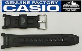 CASIO PRO TREK  PATHFINDER PAG-40 18mm Original Black Rubber Watch BAND ... - $24.95