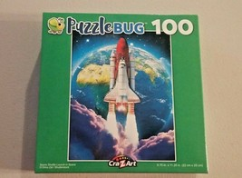 Puzzlebug Space Shuttle Launch In Space Jigsaw Puzzle 100 Pcs New - $6.93