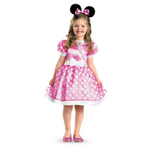 Minnie Mouse Clubhouse Pink Classic Toddler & Girls Child Dress Disney C... - $19.95