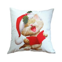 Cuddly Christmas Cuties Pillow Covers - £5.93 GBP