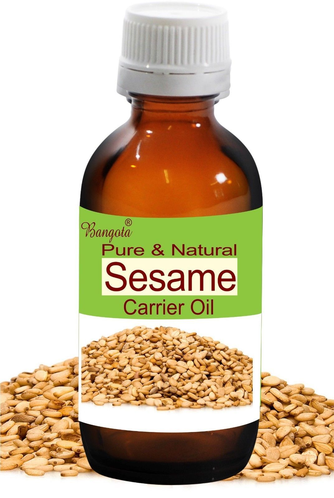 Sesame Oil- Pure & Natural Carrier Oil- 10ml Sesamum indicum by Bangota