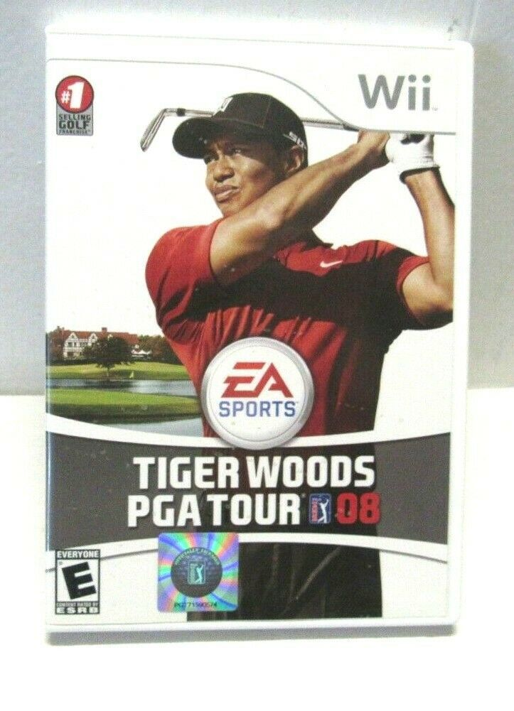 Primary image for Tiger Woods PGA Tour 08 (Nintendo Wii, 2007)
