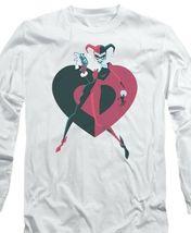 Harley Quinn T-shirt Joker Suicide Squad Batman Gotham long sleeve tee BM2262 image 3