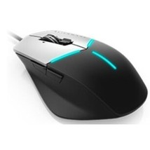 Dell AW558 Alienware Advanced Wired Gaming Mouse - 9 Buttons - Black, Si... - $40.76