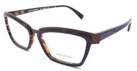 Alain Mikli Rx Eyeglasses Frames A02015 E012 53x15 Brown / Violet / Havana Italy - $103.41