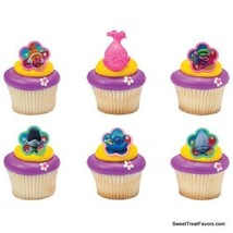 Trolls Poppy True CupCake Cake Topper 12 18 24 Favors Decoration Birthda... - $7.87+