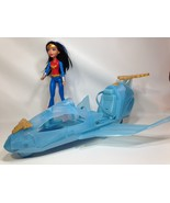 DC Comics Super Hero Girl Wonder Woman Action Doll w/ Invisible Jet (DYN05) - $39.99