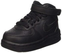 Nike Toddlers Air Force 1 Mid Shoes 314197-004 - $59.12