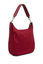 Marc Jacobs Trooper Nylon Hobo Bag Deep Maroon image 2