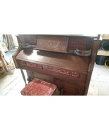 Antique Pump Organ Estey Working Condition With Stool Local PIckup Only  - $594.00