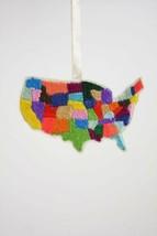 USA Patchwork Ornament - $4.95