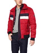 Tommy Hilfiger Men's Quilted Bomber Hoody Colorblock Jacket Coat Choose ... - $108.47+