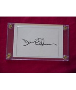 DAVID GILMOUR Autographed Signed Signature Cut w/COA - 30634 - $60.00
