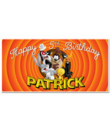 Looney Tunes Custom Birthday Party Banner Decoration - $22.28