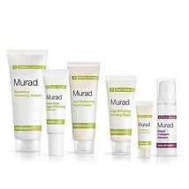 Murad Resurgence 30 Day Kit Renewing Cleansing Cream, Anti-Aging -6 Pieces. - $20.78