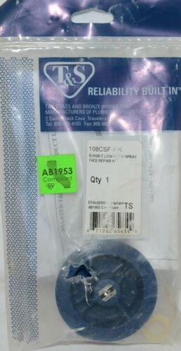 T  S Brass Bronze Works Reliability Built In 108CSF RK Low Flow Spray
