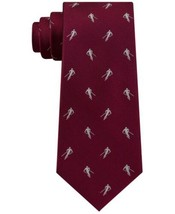 Tommy Hilfiger Men's Slim Skiing Silk Tie (Red) - $49.95