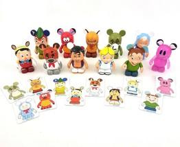 Disney Vinylmation Animation Series Figures Lot 11 Pcs Pinocchio Aladdin Alice - $59.28