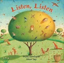 Listen, Listen LB [Board book] Phillis Gershator and Alison Jay - $7.99
