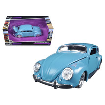 Volkswagen Beetle Blue Outlaws 1/24 Diecast Model Car by Maisto 31023bl - $26.49