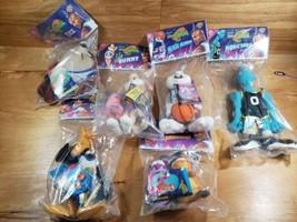NEW!! Complete Set of 6 Space Jam Plushies McDonalds 1996 Michael Jordan Toys - $24.90