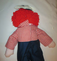 "Raggedy Andy Doll Large 35"" Tall Rag  image 5"