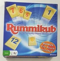 Rummikub Tile Game 1997 Pressman EUC Complete  - $18.69