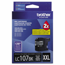 Brother LC107BK Innobella Super High-Yield Ink, 1200 Page-Yield, Black - $37.99