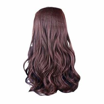 """One-piece Curly Wave Clip-on Hair Extensions Hairpieces 5 Clips 20"""" - Da... - $17.74"""